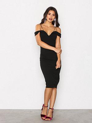 Ax Paris Thin Strap Bodycon Dress Black