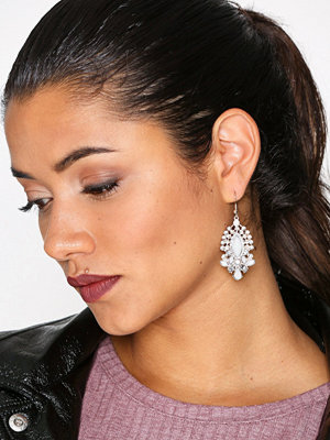 NLY Accessories örhängen Ornate Mix Stone Earrings Multicolor