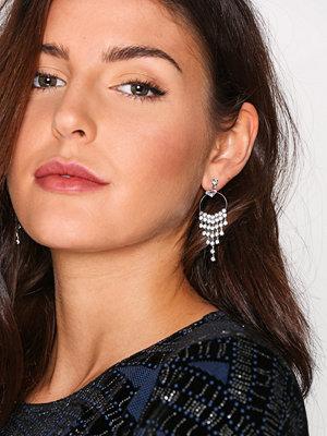 NLY Accessories örhängen Cupchain Chandeilier Earr Silver