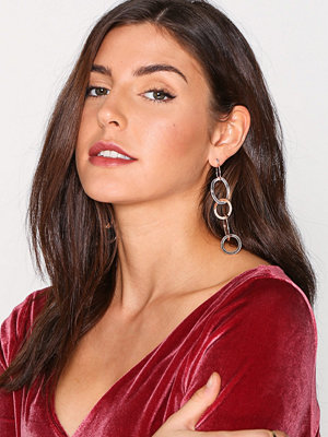 NLY Accessories örhängen Chain Drop Earrings Rose Gold