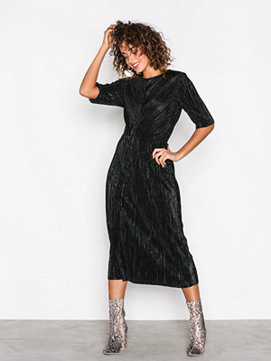 Vila Vifrances 2/4 Sleeve Dress/P Svart