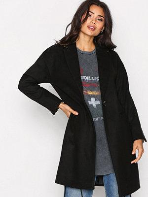 Topshop RX Coat Black