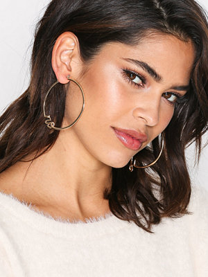 NLY Accessories örhängen Yes Hoops Guld
