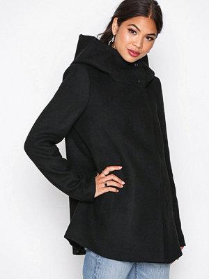 Vero Moda Vmcollar Wool Jacket Noos Svart