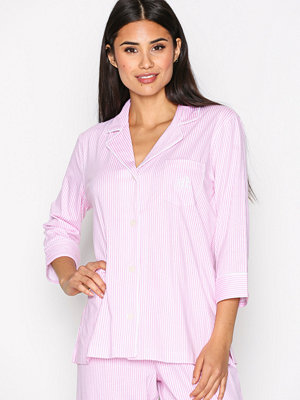 Lauren Ralph Lauren Classic Notch PJ Set Rosa