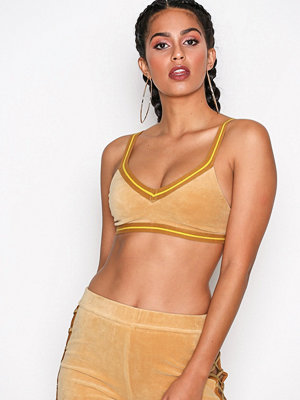 Fenty PUMA by Rihanna V-Neck Crop Top Beige