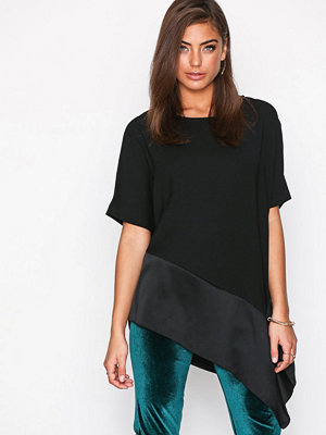 River Island SS Tendril Tee Black