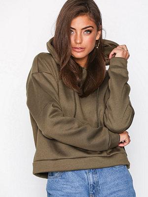 Glamorous Andrea Plain Hoodie Khaki