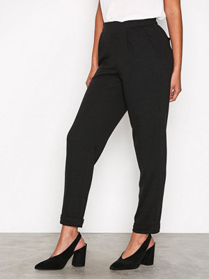 Only svarta byxor onlLYA Pull Up Pants Tlr Svart