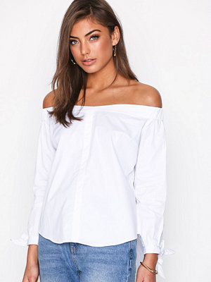 Glamorous Off Shoulder Top White