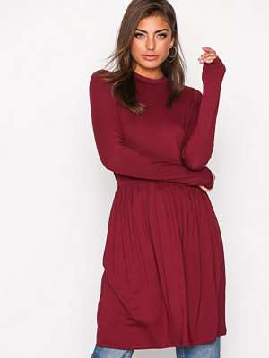 NLY Trend Perfect Covered Dress Burgundy