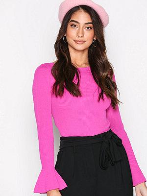 MICHAEL Michael Kors Boatneck Bell Sleeve Pink