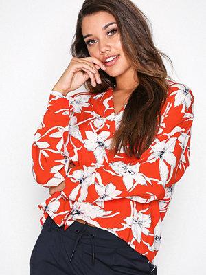Vero Moda Vmjuly Ls Shirt Orange