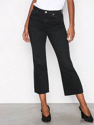 Topshop Dree Dark Washed Jeans Black