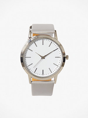 NLY Accessories Plain Watch Grå