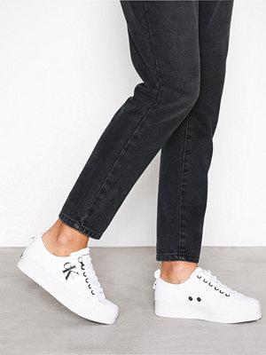 Calvin Klein Jeans Zolah Canvas Vit
