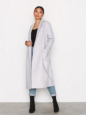 Glamorous Classic Trench Coat Light Grey