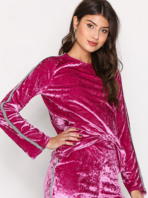 NLY Trend Brilliant Top Rosa