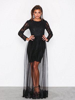 Dry Lake Daisy Dress Black Lace