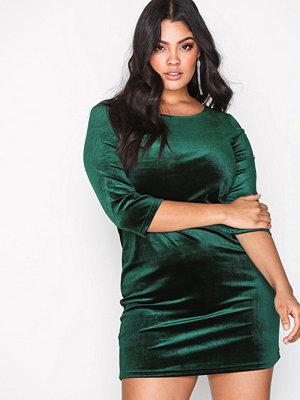 Vila Visienna 3/4 Sleeve Dress/2 Mörk Grön
