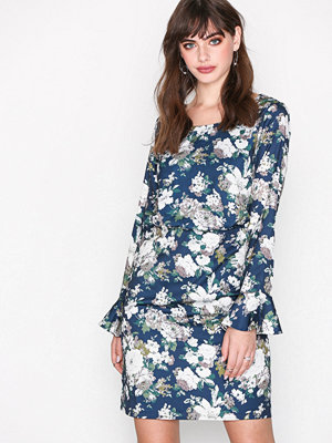 Dry Lake Bella Dress Blue Flower