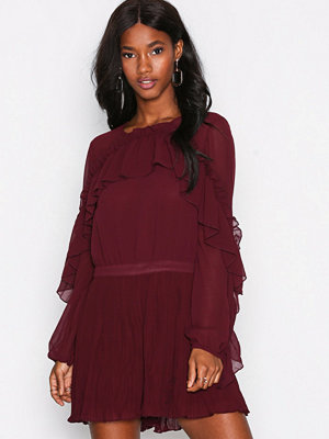 Jumpsuits & playsuits - River Island Long Sleeve Flick Playsui Berry