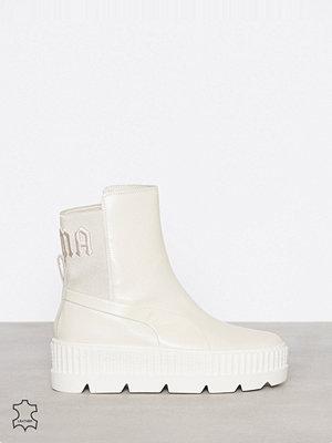 Sneakers & streetskor - Fenty PUMA by Rihanna Chelsea Sneaker Boot Vit