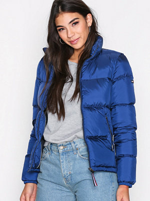 Dunjackor - Tommy Jeans THDW Down Jacket Blue