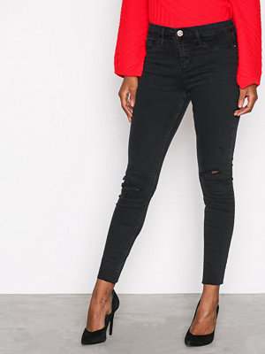 River Island Molly Wilson Jeans Washed Black