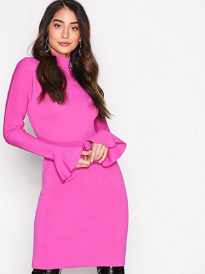 MICHAEL Michael Kors Bell Sleeve Dress Pink