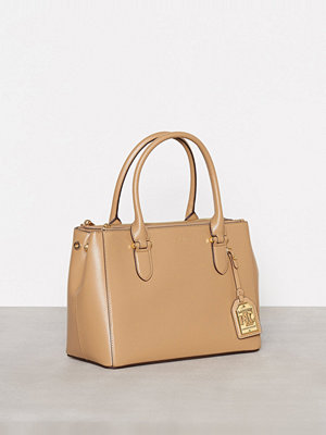 Lauren Ralph Lauren Newbury Double Zipper Shopper Cream