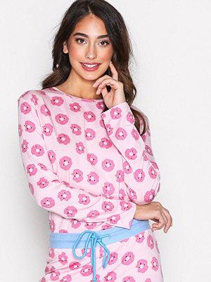 Pyjamas & myskläder - Chelsea Peers Dounut PJ Set Rosa