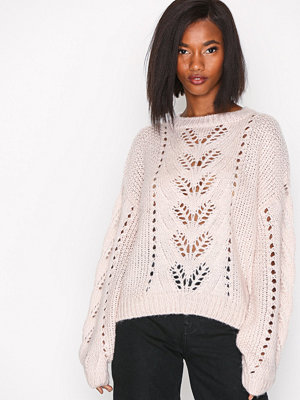 New Look Balloon Sleeve Jumper Light Beige
