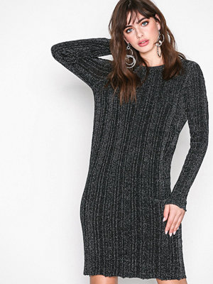 Vila Vimarbel L/S Knit Dress Svart
