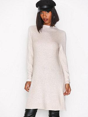 Only onlKLEO L/S Dress Knt Noos Ljus Brun
