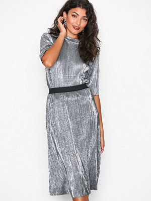 Vila Visilvi Midi Skirt Silver