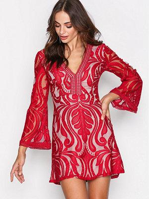 Love Triangle Winter Soliste Mini Dress Shiraz