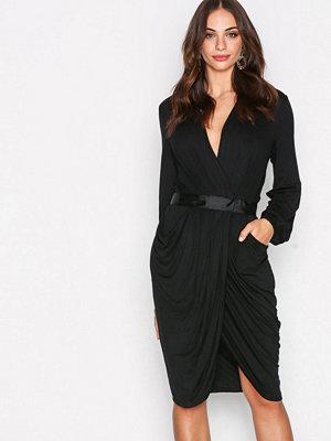 Y.a.s Yasmacy L/S Jersey Dress Svart