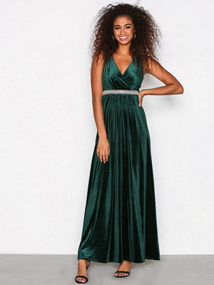 Sisters Point Gell Dress Deep Green