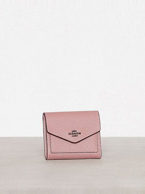 Plånböcker - Coach Small Wallet Dusty Rose