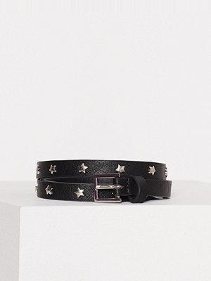 Bälten & skärp - Pieces Pcagnes Jeans Belt Svart