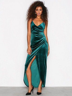 Sisters Point Nille Dress Deep Green