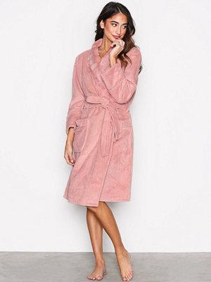 P-J Salvage Silky Robe Blush