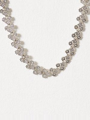 Only halsband onlLILLIAN Statement Necklace Acc Silver