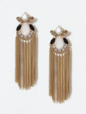 Pieces örhängen Vmaddisson Long Earrings Guld