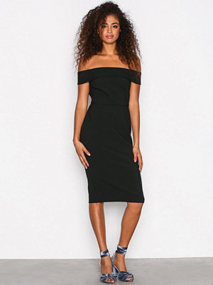 River Island Bardot Bodycon Dress Black