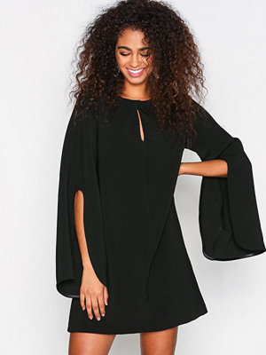 River Island Long Sleeve Swing Dress Black