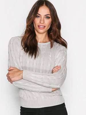 Polo Ralph Lauren Julianna-Classic-Long Sleeve-Sweater Grey