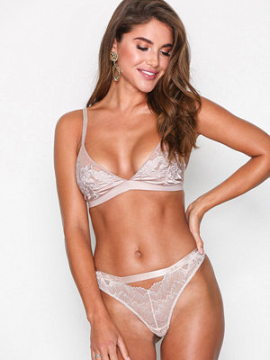 Topshop Lace Thong Cream