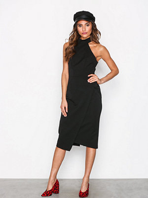 River Island Fitted Dress Black
